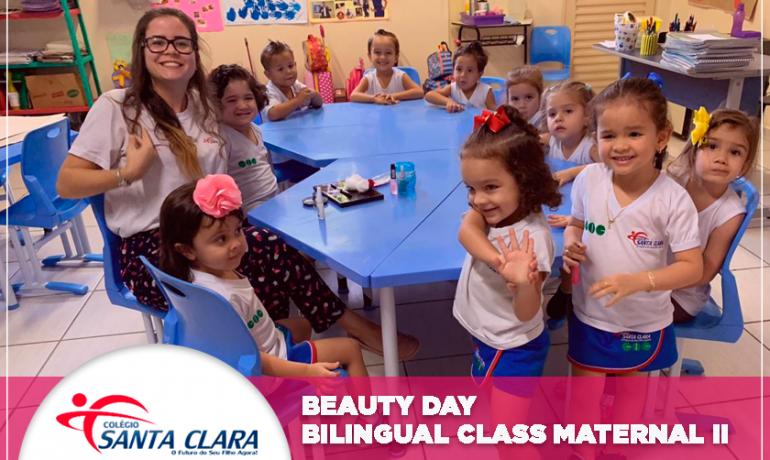 Beauty day – Bilingual Class Maternal II