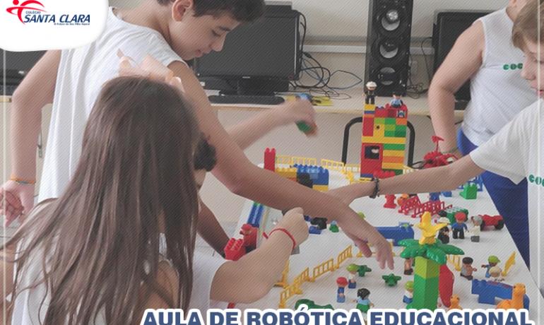 Aula de Robótica educacional