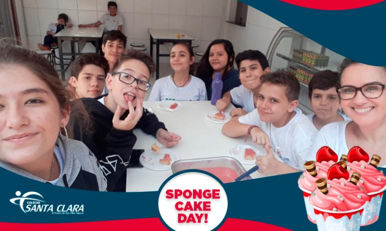 Sponge Cake Day!