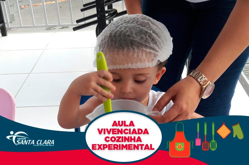Aula Vivenciada – Cozinha Experimental